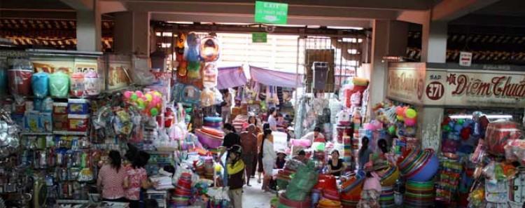 Le marché Binh Tay